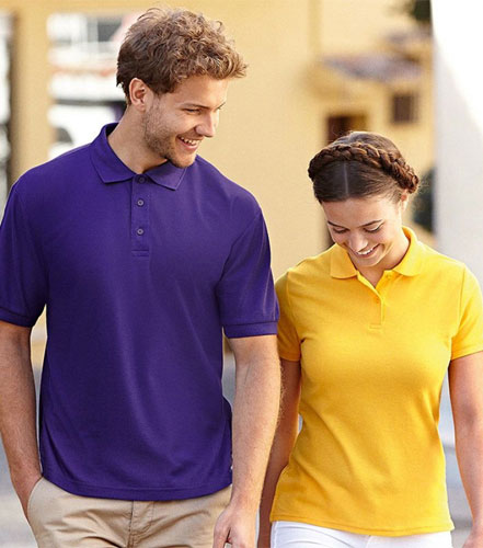 Рекламни дамски поло тениски FOL модел Lady-Fit 65 35 ID47 dd495f9229